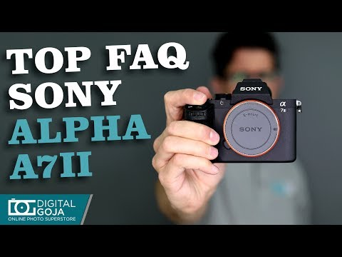 TOP 15 Questions: Sony Alpha α7 II & Review of Specs