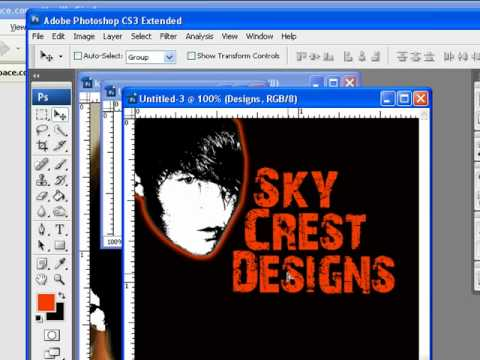 how to make a cool logo in photoshop cs5