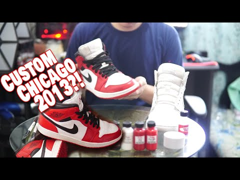 Work From Home Season?! Air Jordan 1 Chicago 2013 Custom