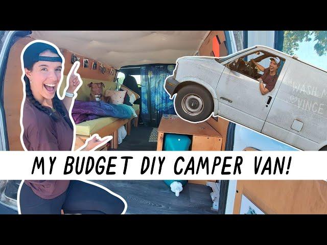 Miranda in the Wild | DIY Van Tour