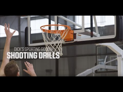Shooting Consistency With 5-Spot Shooting Drill - Basketball Drills