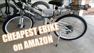 SMLRO $550 New eBike unboxing and build