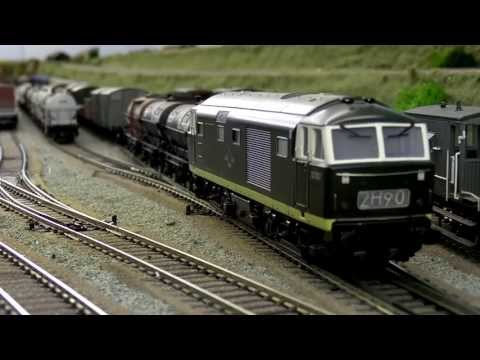 North East model railway - Marshalling Yard Part4