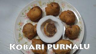 Coconut Poornalu | kobbari Burelu in Telugu by Siri@siriplaza