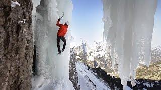 Dani Arnold Ice Climbing | Crack Baby