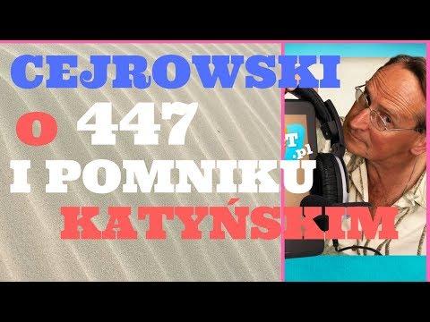 Cejrowski o 447 i Pomniku Katyńskim w Jersey City 2018/05/18 Radio WNET