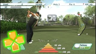 Tiger Woods PGA Tour 2009 PPSSPP Gameplay Full HD / 60FPS