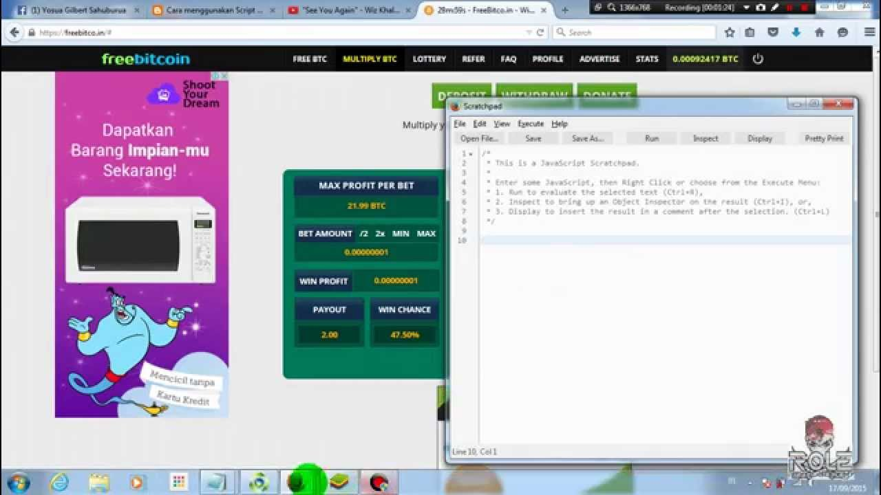 freebitcoin bot bináris opciók mobilról