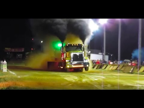 Awesome Battle of the BlueGrass Tractor and Truck Pull