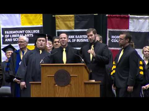 WSU Alma Mater and Hail Wichita Fall 2014 Commencement