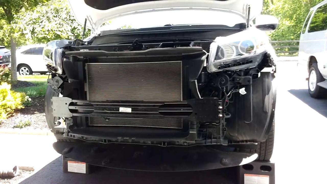 How To Remove Front Bumper Easy Youtube