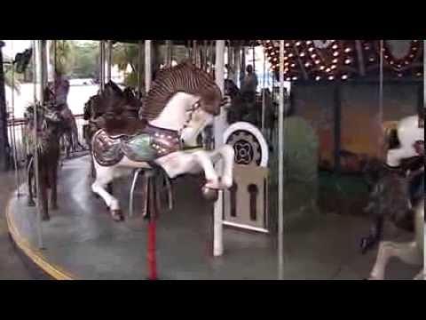 Sahara Go Round carousel at Busch Gardens Tampa