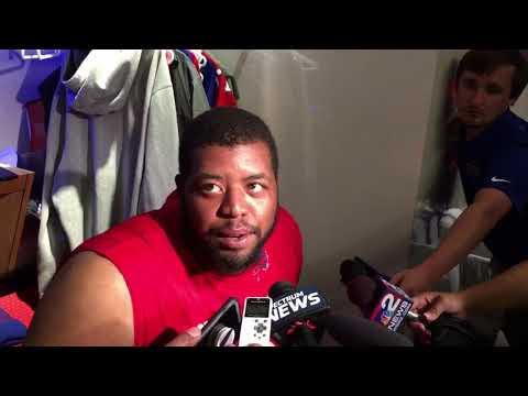 Buffalo Bills preseason week 3 - left tackle Cordy Glenn (8/23/17)