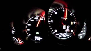 Porsche Cayenne S Diesel 0-265 Kickdown