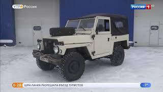 Land Rover Series 3.Видео обзор.Тест драйв.