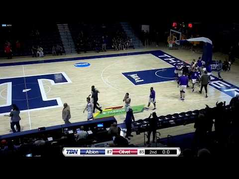 Albion Buzzer Beater to Defeat Olivet