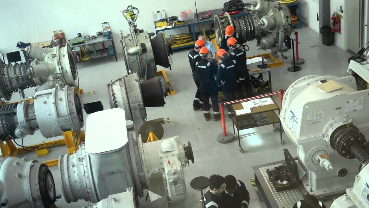 Gas turbines: product training for customers, Siemens Lincoln