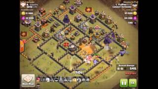 Clash Of Clans - Lanhut Extreme VS 3040 korea - 3s on TH 11-10-9