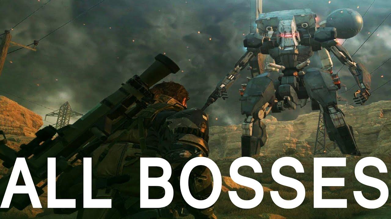 Metal Gear Solid 5 Boss Fights