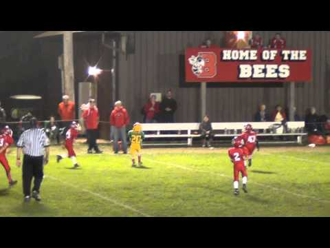 2013 Cicereo Falcons football  Joey Pass Completion