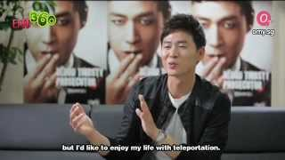 [20120612] Interview with Yun Jung Hoon (연정훈) Part 2 [Eng Sub]