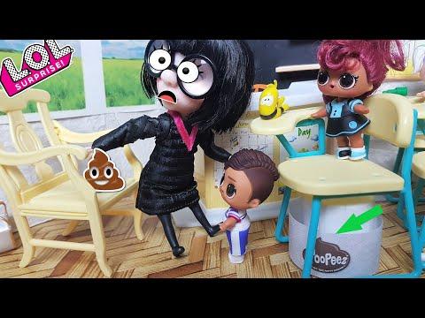Вон из школы! За такие шуточки! Куклы ЛОЛ сюрприз новые серии школа ЛОЛ мультики
