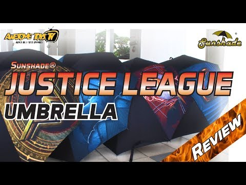 Sunshade® JUSTICE LEAGUE Umbrella Review!