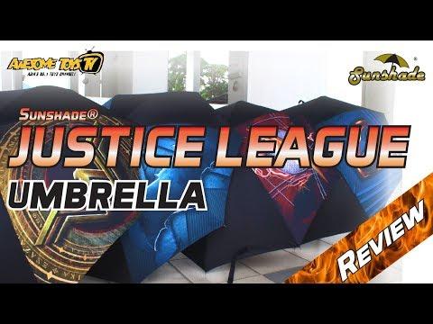 Sunshade® JUSTICE LEAGUE Umbrella Review!