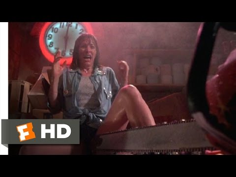 The Texas Chainsaw Massacre 2 611 Movie   Leatherface Aroused 1986 HD