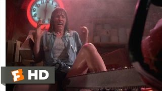 The Texas Chainsaw Massacre 2 (6/11) Movie CLIP - Leatherface Aroused (1986) HD