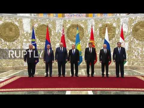 Belarus: Putin joins CSTO leaders as security meeting kicks off in Minsk