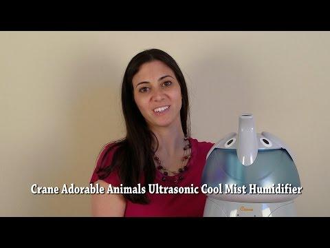 Crane Adorable Animals Ultrasonic Cool Mist Humidifier