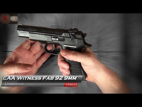 EAA Witness (Tanfoglio) FAB 92 Unboxing