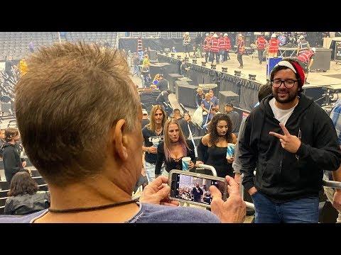 Fan Has No Idea He's Talking To Eddie Van Halen
