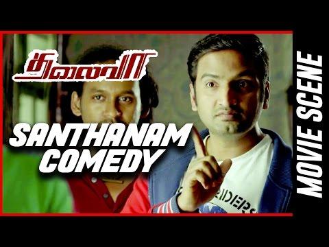 Thalaivaa - Santhanam Comedy  Ilayathalapathy Vijay   Amala Paul   Sathyaraj