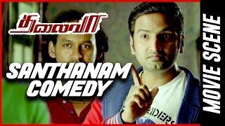 Thalaivaa - Santhanam Comedy| Ilayathalapathy Vijay | Amala Paul | Sathyaraj