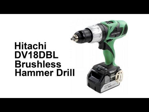 Hitachi DV18DBL Brushless Hammer Drill
