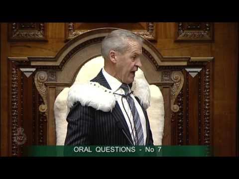 Speaker Gives David Parker the Boot