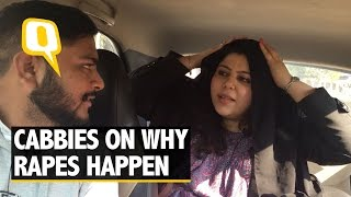 The Quint: Cab Mein Charcha: Do Skirts, Smoking & Drinking Cause Rape?