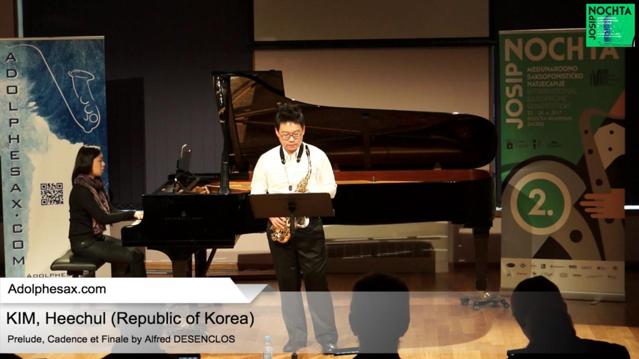 Prelude, Cadence et Finale by Alfred Desenclos – KIM, Heechul Korea
