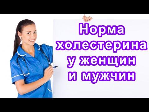☑ Норма холестерина в крови у мужчин и женщин