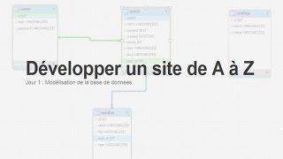 Tutoriel PHP : Développer un site : Jour 1, La base de données