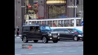 «КТ» Критическое видео. Кортежи чиновников(У кого из президентов самый шикарный кортеж в мире? Почему Барак Обама застрял в бордюре? Кто пересадил..., 2013-04-23T14:12:16.000Z)