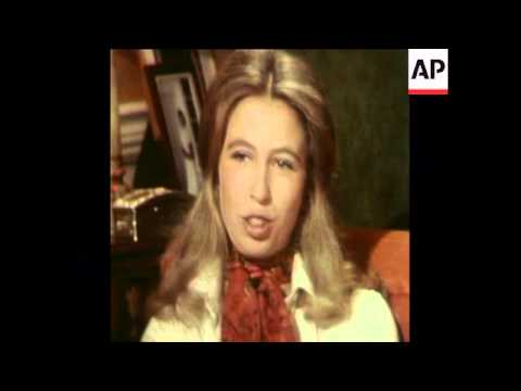SYND 12-11-73 PRINCESS ANNE INTERVIEW