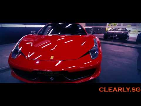 Ferrari 458 Italia Selection - Red, White or Yellow