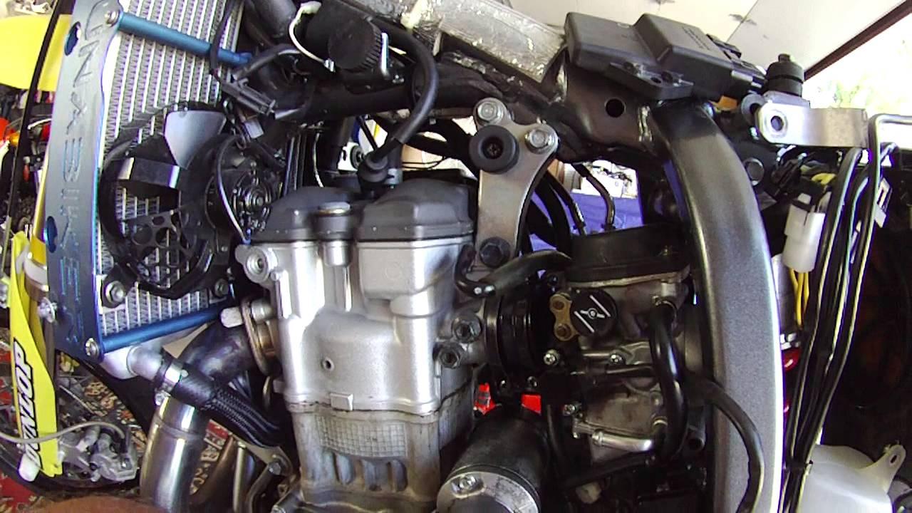 2006 SUZUKI DRZ 400 SM OIL LEAK, JET ISSUES  Part 2