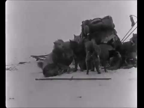 first expedition to the south pole real footage