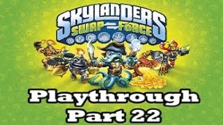 Skylanders: Swap Force - Playthrough Part 22 (Fantasm Forest Part 2)