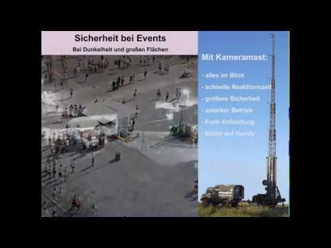Videogroup Event Sicherheit mit Kameratechnik am Beispiel WM Fandorf