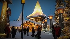 Santa Claus Village in Rovaniemi, Lapland Finland before Christmas - Arctic Circle Father Christmas